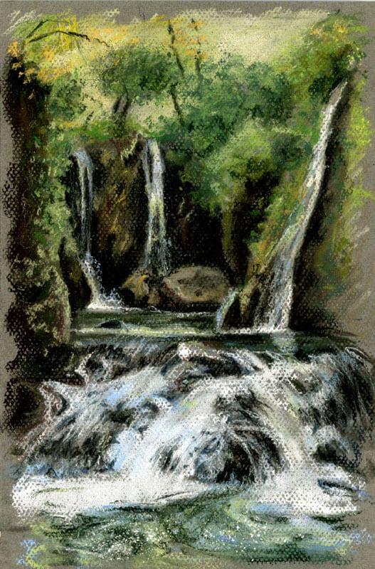 Pastel Waterfall