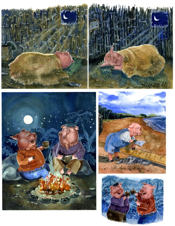 The Three Pigs 1