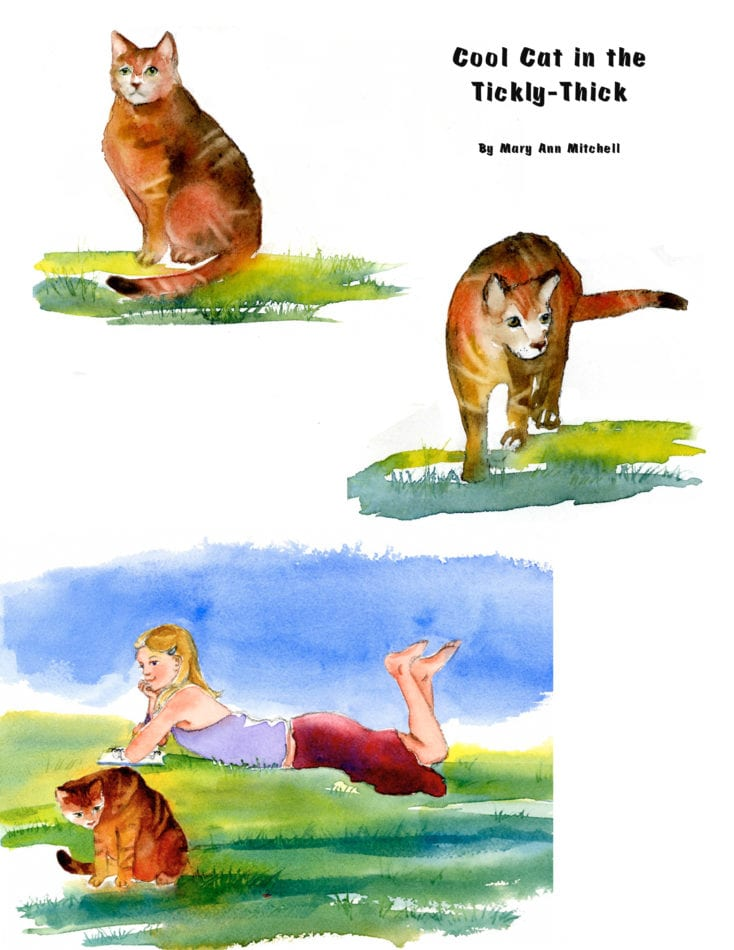 Cool Cat in the Tickly-Thick