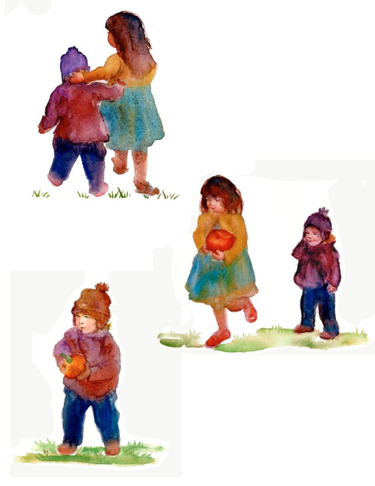 Kids in a Loose Style