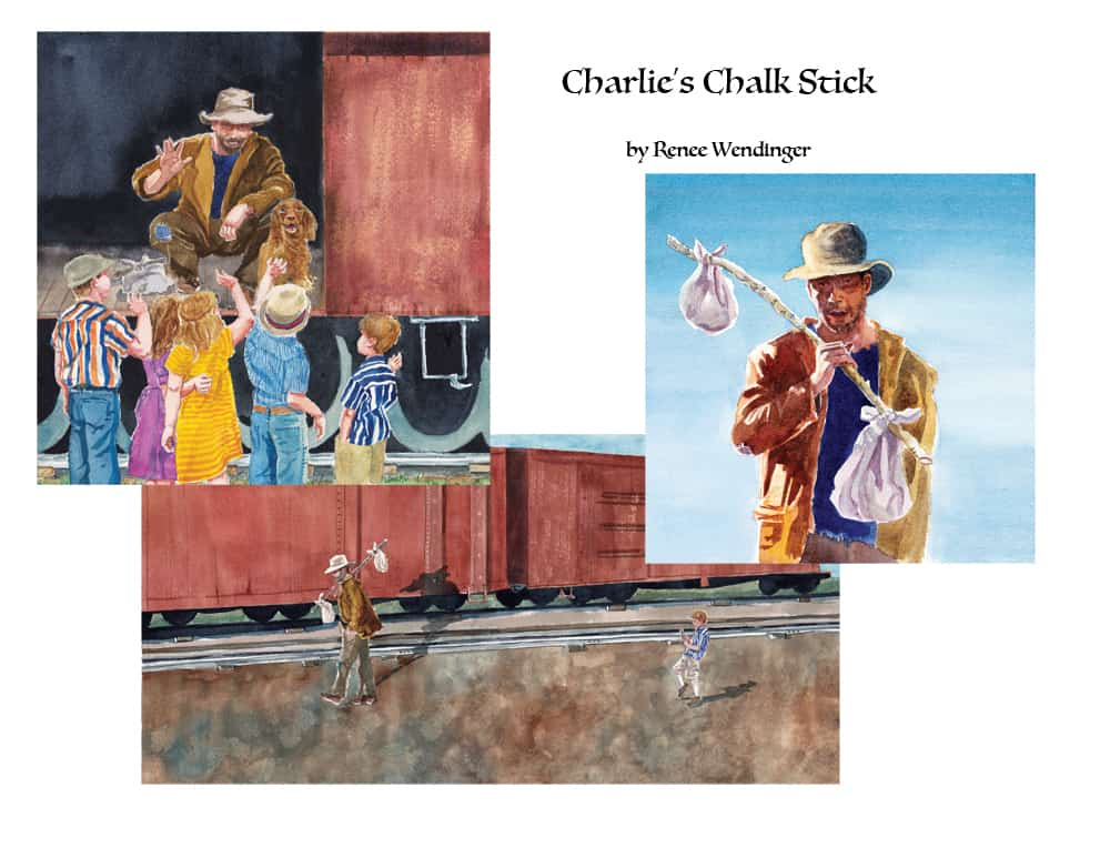 Charlie's Chalk Stick