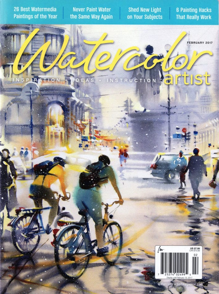 Watercolor Artist Magazine - 2017