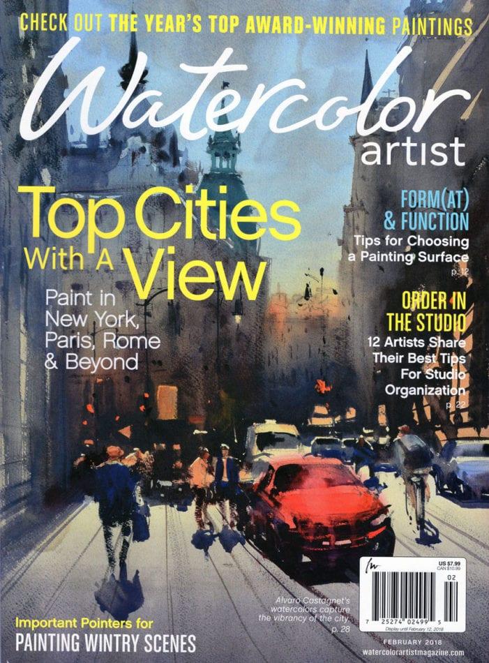 Watercolor Artist Magazine - 2018